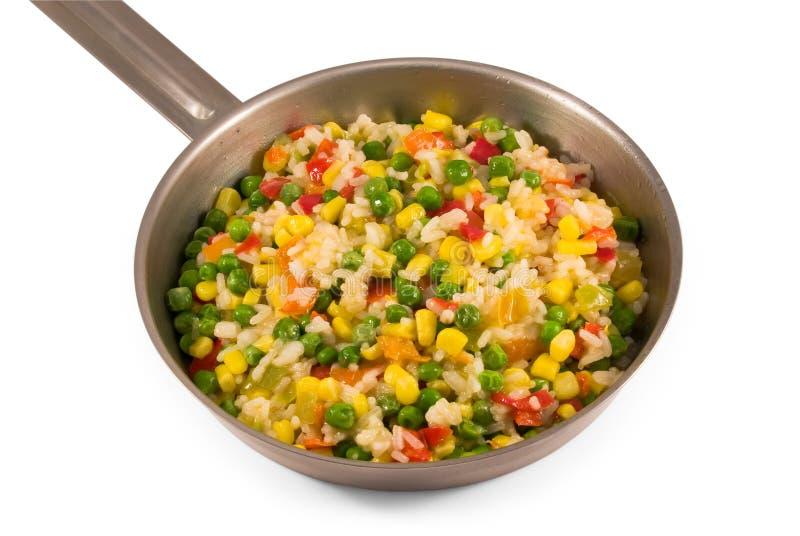 烤在油菜混合物 免版税库存图片