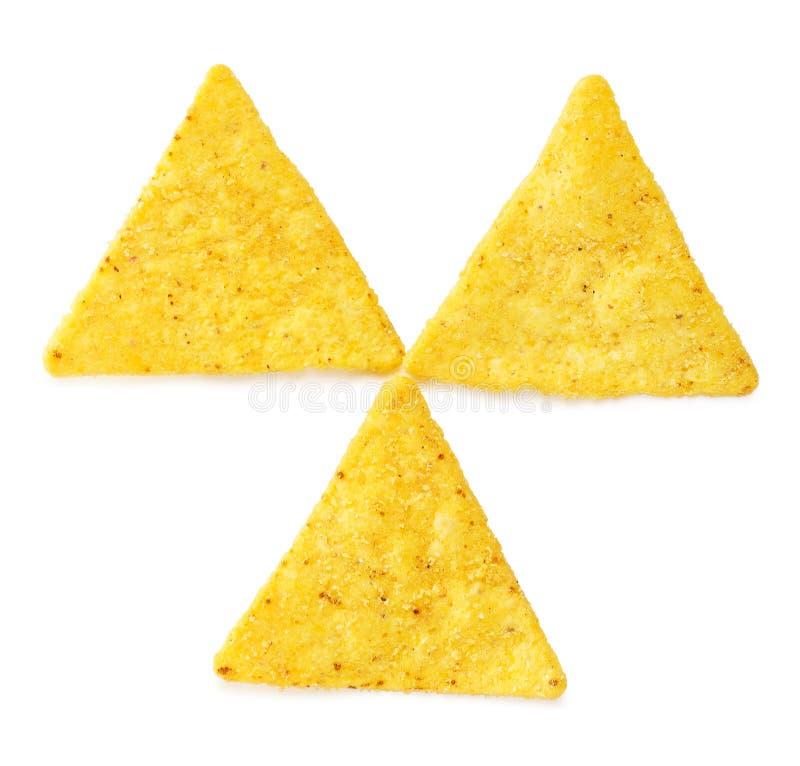 烤干酪辣味玉米片芯片 免版税库存图片