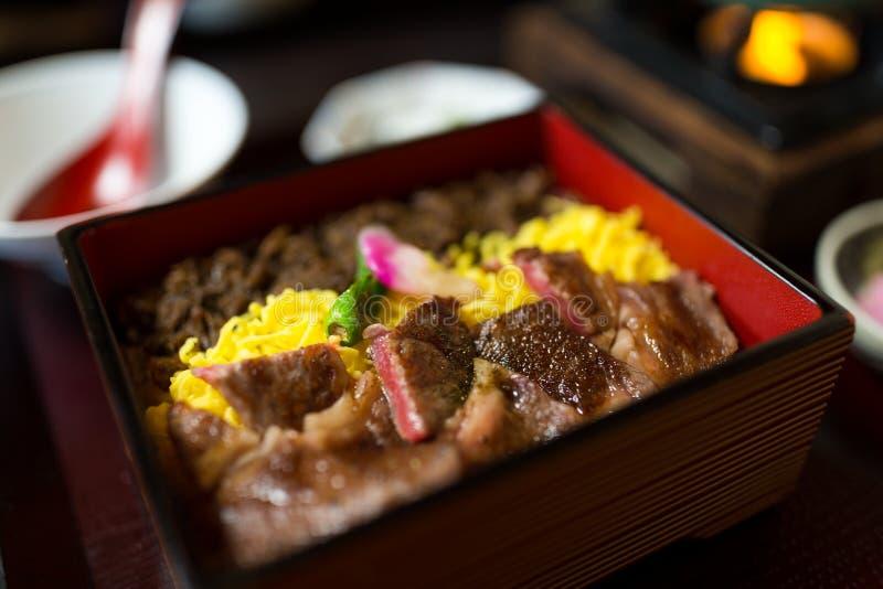 烤牛肉米 库存图片