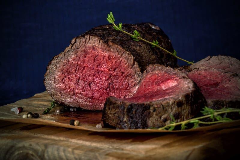 烤牛肉 免版税库存图片