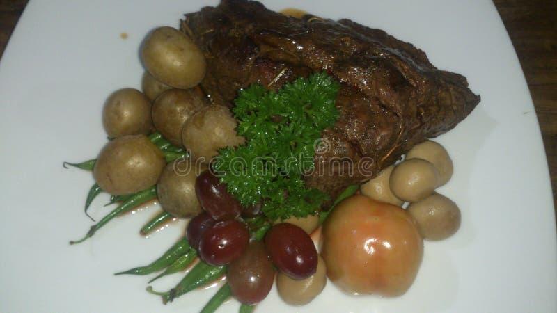 烤牛肉 库存照片