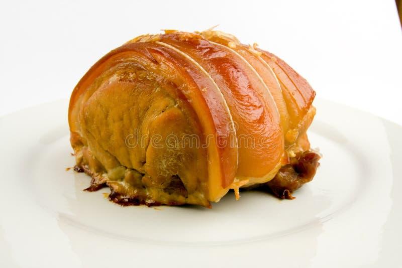烤猪肉 图库摄影