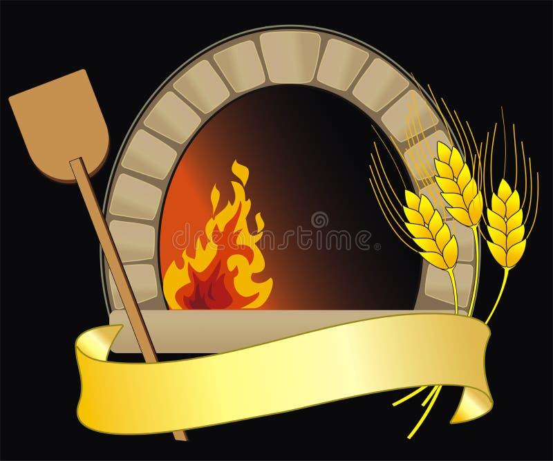 烤箱向量 库存例证