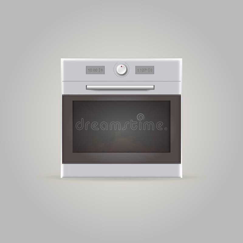 烤箱的例证 库存例证