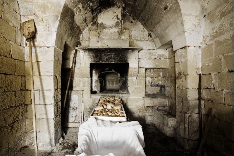 烤箱石头 免版税库存图片