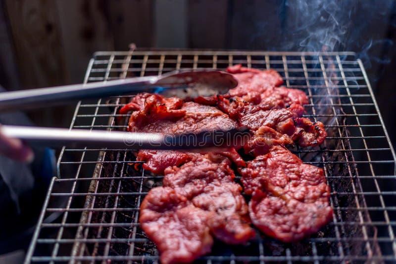 烤肉串,烤肉 免版税库存照片