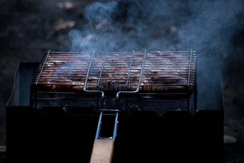 烤肉照片 免版税库存照片
