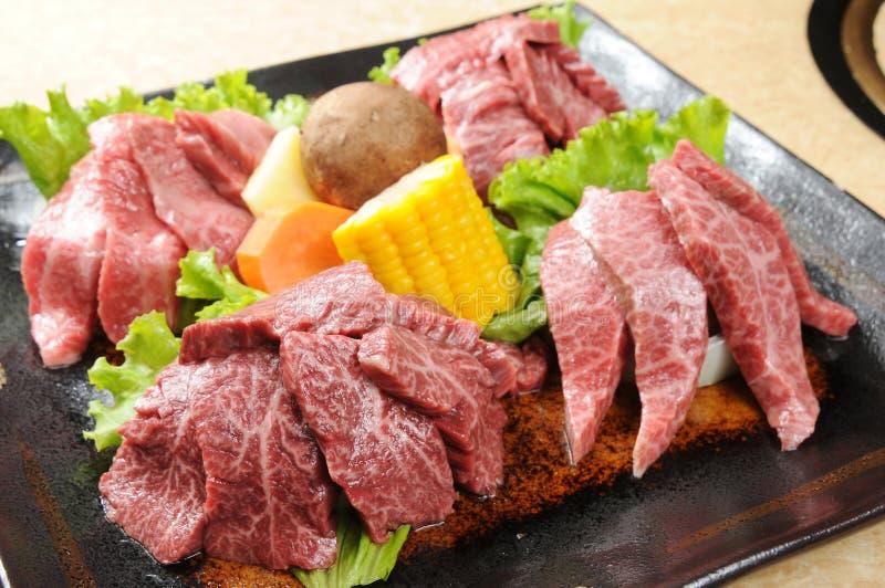 烤肉肉 免版税库存图片
