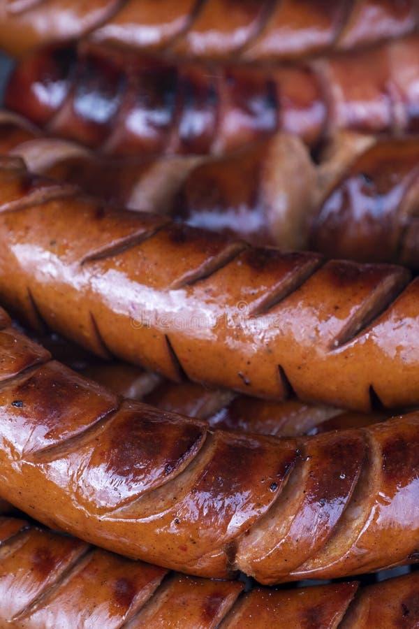 烤肉肠 免版税库存图片