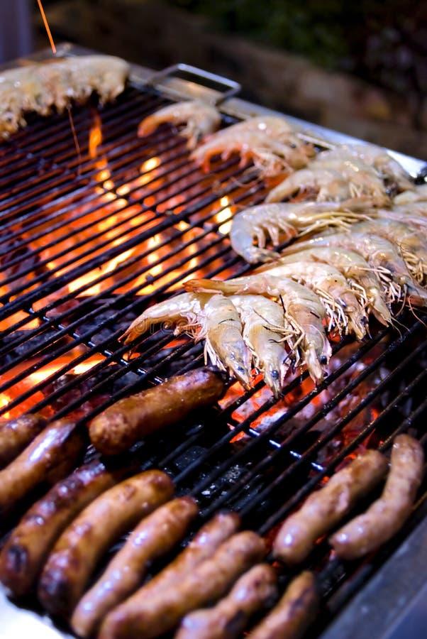 烤肉自助餐 免版税图库摄影