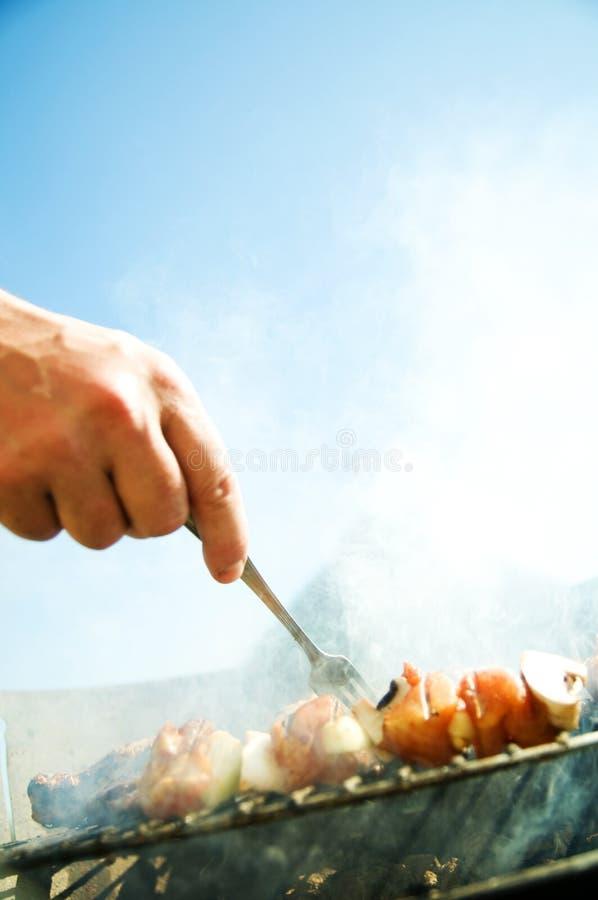 烤肉 免版税图库摄影