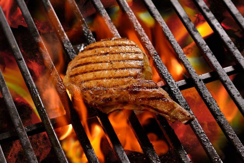 烤肉/steak 图库摄影