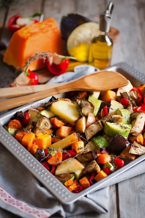 烤蔬菜 图库摄影