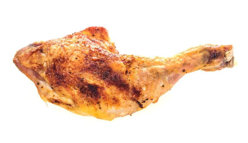 烤鸡 图库摄影