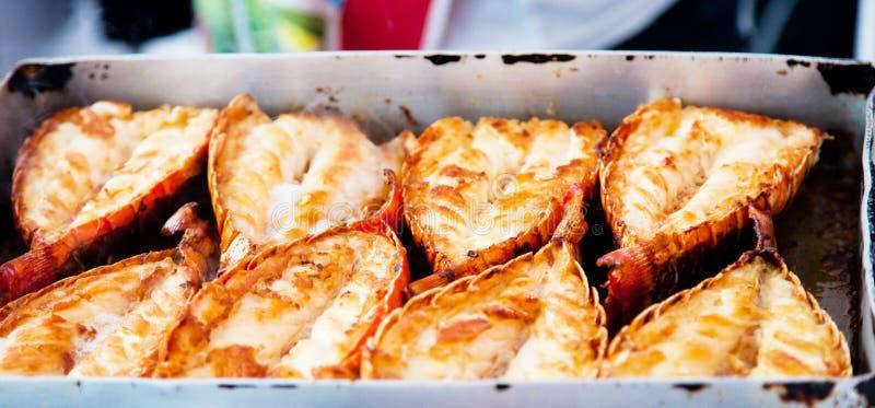 烤龙虾 库存图片