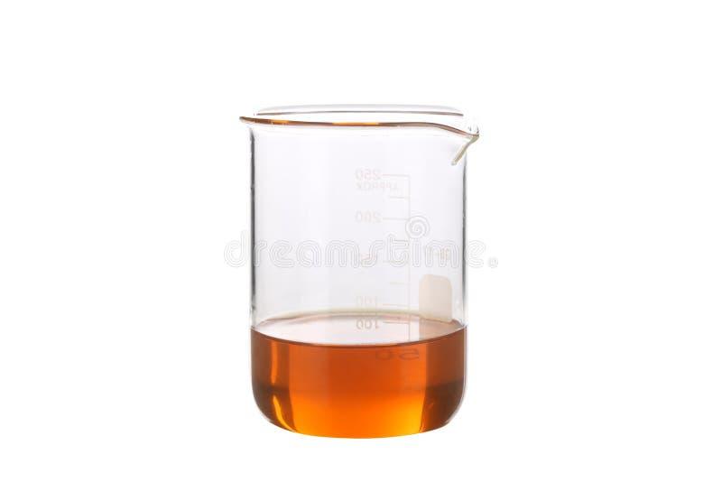 烧杯生物燃料 免版税库存图片