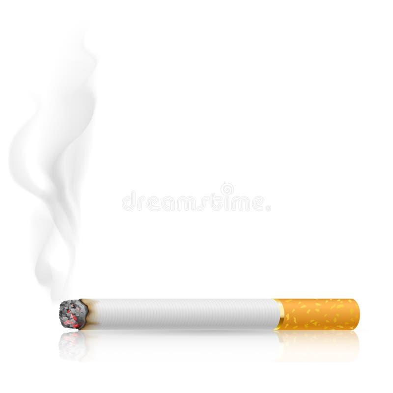 烧香烟 皇族释放例证