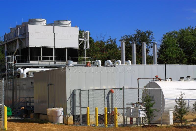 热化透气空调系统 免版税图库摄影