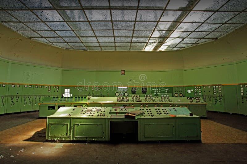 热和电的中心 图库摄影