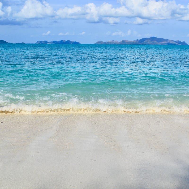 热带夏天在亚洲 免版税图库摄影