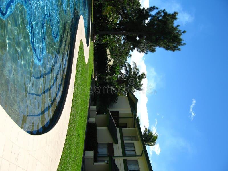 热带放松的手段 免版税库存图片