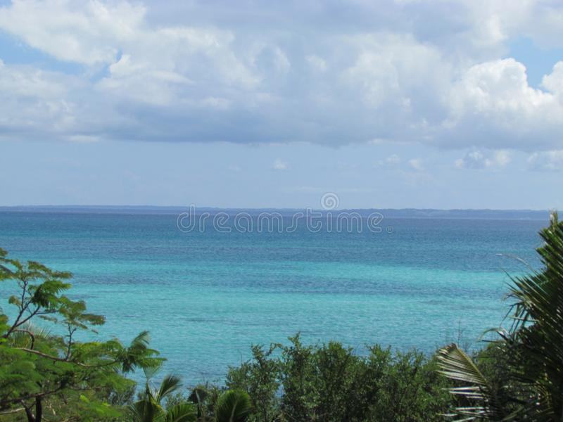 热带海湾在菲律宾 免版税图库摄影
