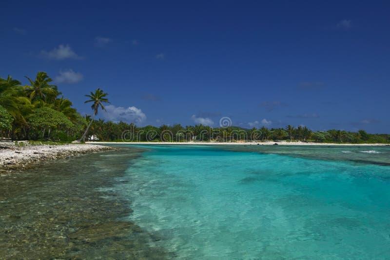 热带海滩梦想的天堂 图库摄影