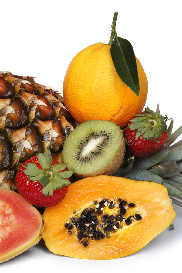 热带的果子 免版税库存照片