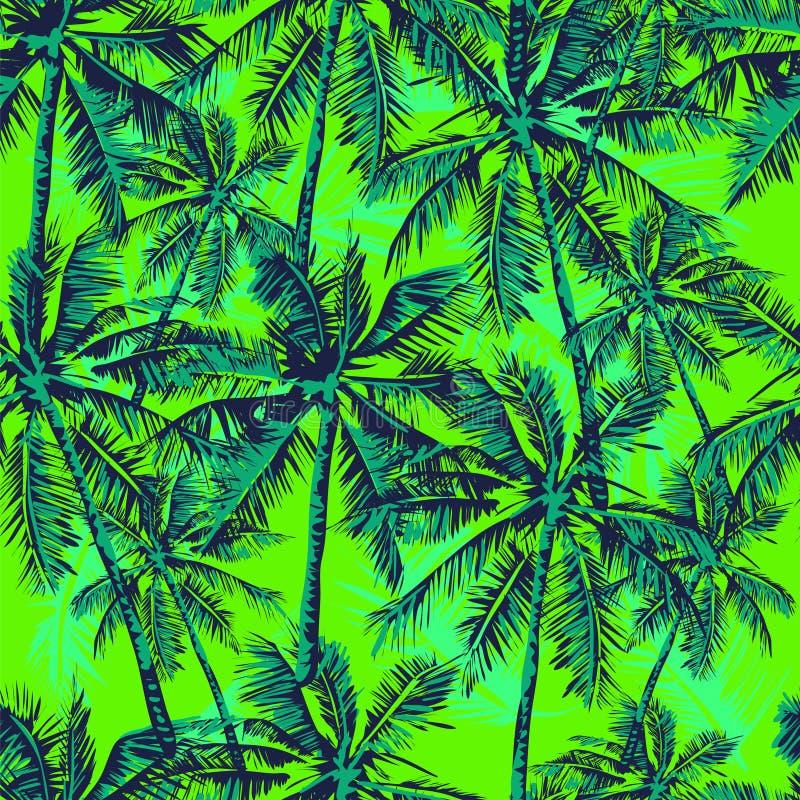 热带的模式 向量例证