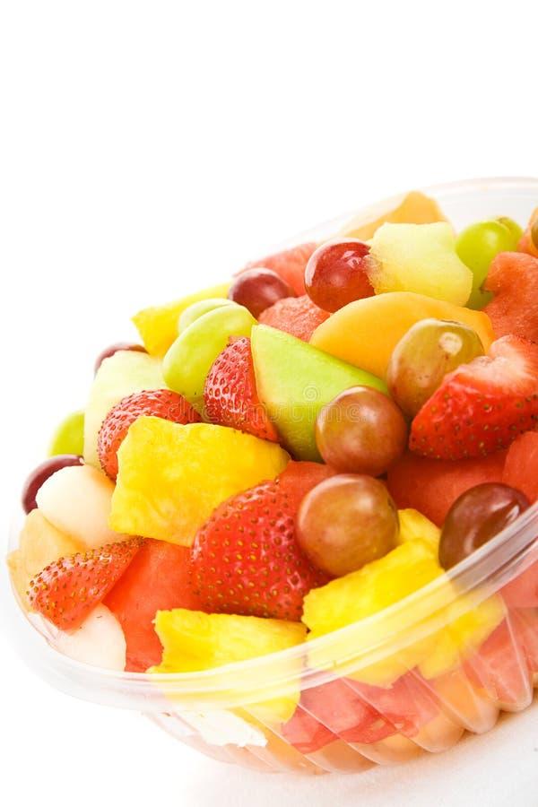 热带的水果沙拉 免版税库存图片
