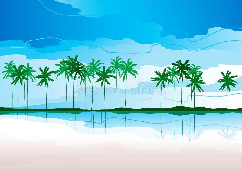Download 热带的海岸 向量例证. 插画 包括有 节假日, 和平, 艺术, 海岛, 例证, 天堂, 海岸线, 夏威夷 - 22354806