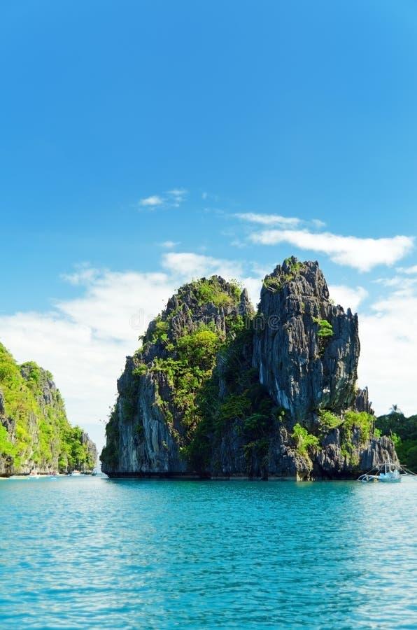 热带的海运 图库摄影