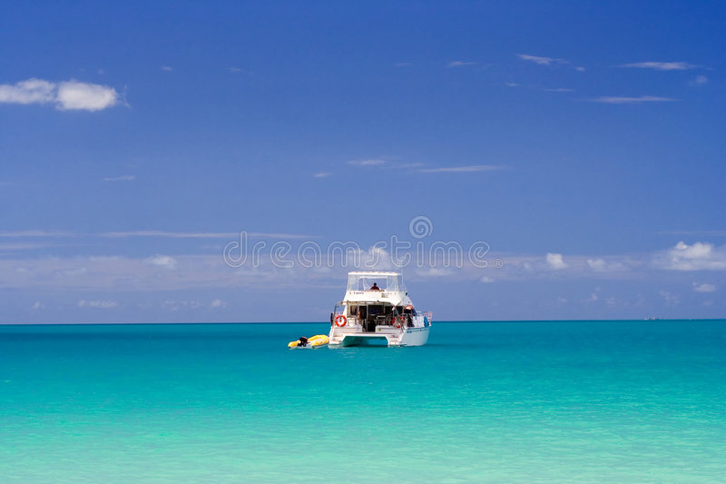 热带的海运 免版税库存图片