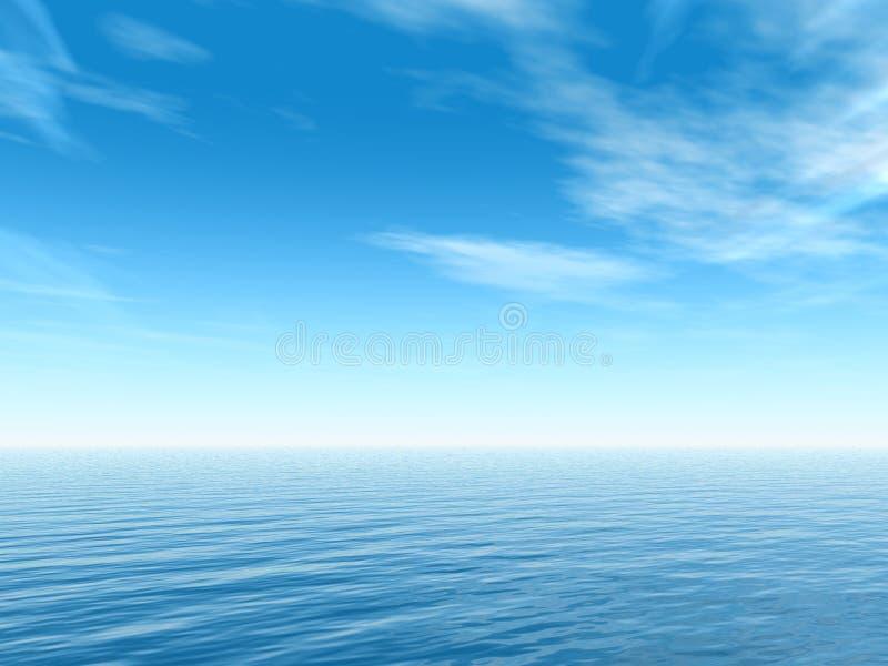 热带的海运 向量例证