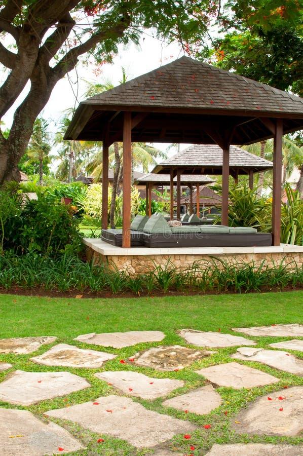 热带的眺望台 免版税库存图片