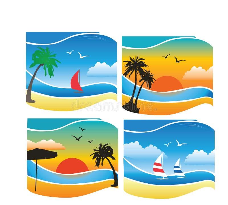 热带的背景 免版税图库摄影
