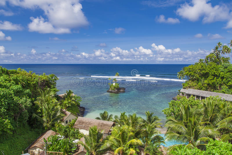 热带萨摩亚 图库摄影