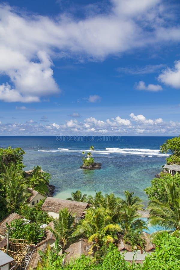 热带萨摩亚 免版税库存照片