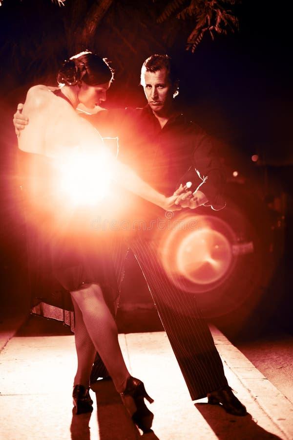 热情的舞蹈 免版税库存照片