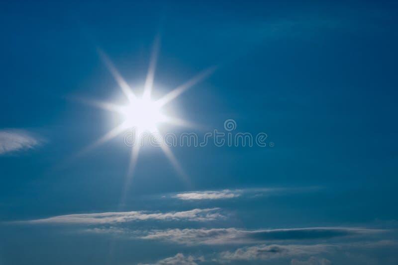 热星期日 库存图片