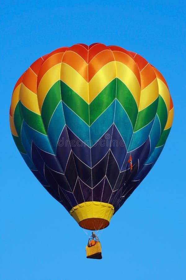 热气球的竞争 免版税库存照片