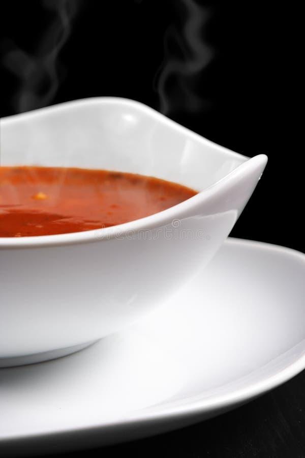 热汤 免版税库存照片