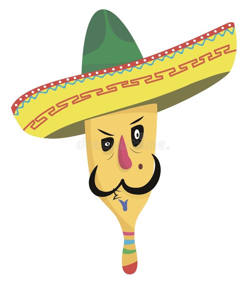 热的墨西哥人 库存图片