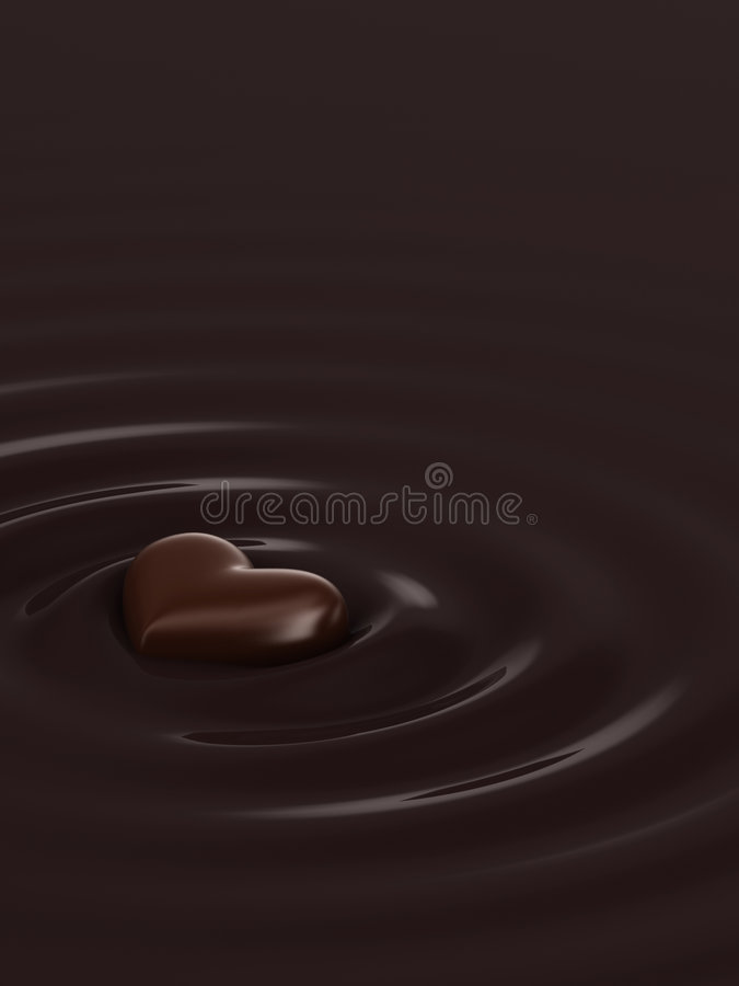 热的巧克力 向量例证