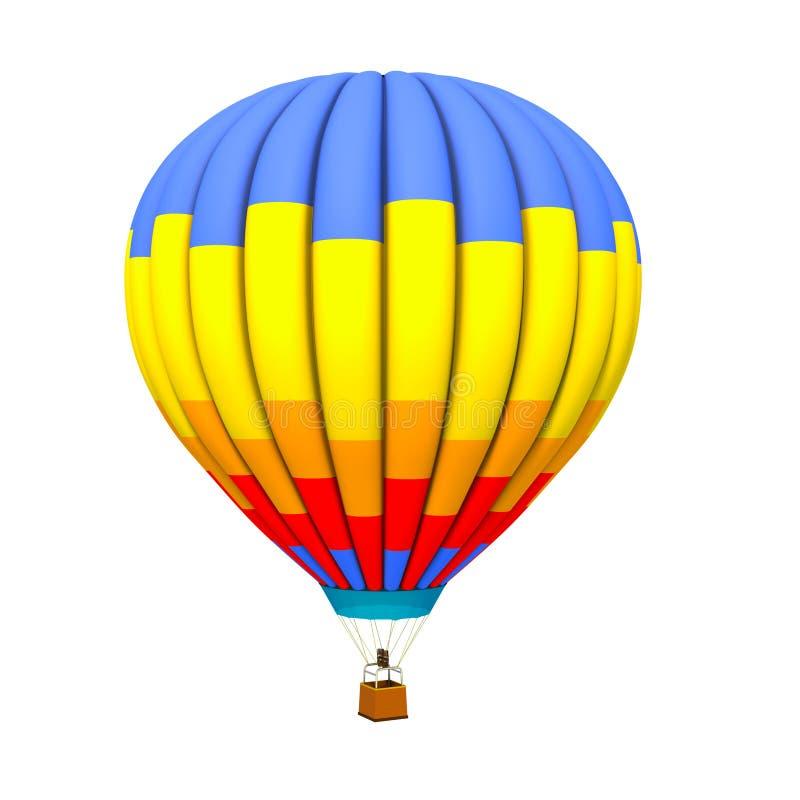热的气球 皇族释放例证