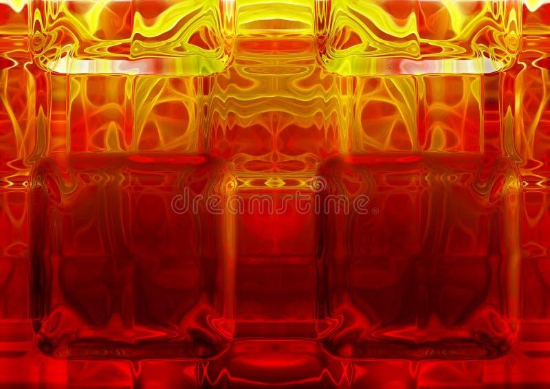 热的玻璃 免版税库存照片