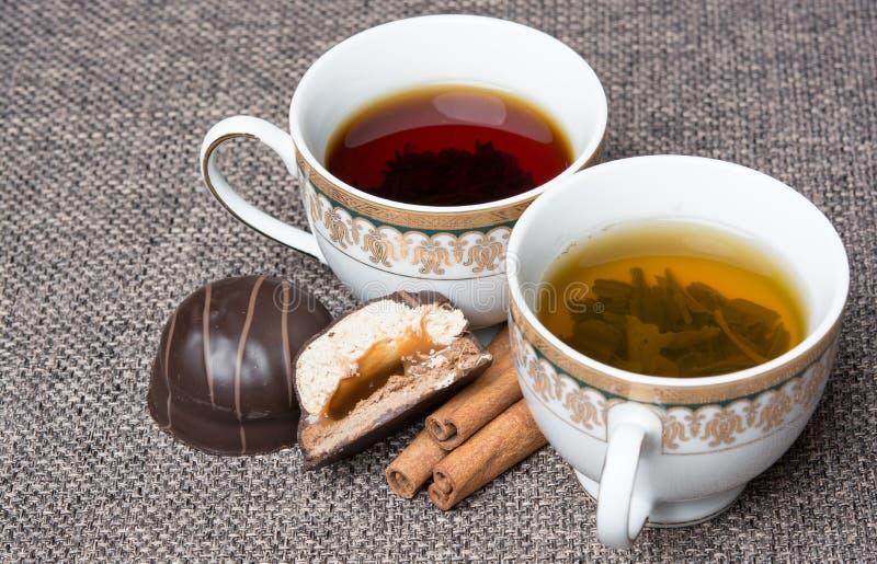 热的芬芳茶 免版税库存照片