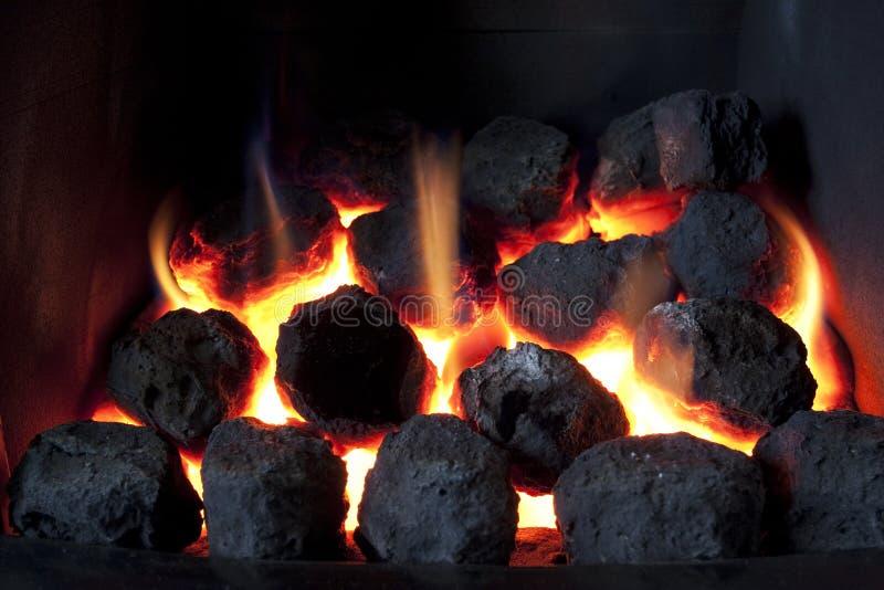 热的采煤 库存照片