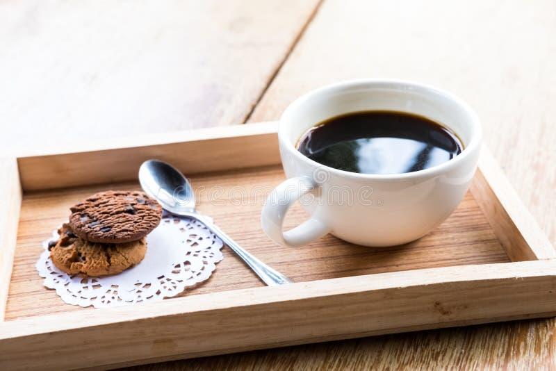 热的americano咖啡 免版税库存图片