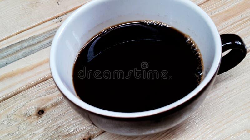 热的americano咖啡 库存图片